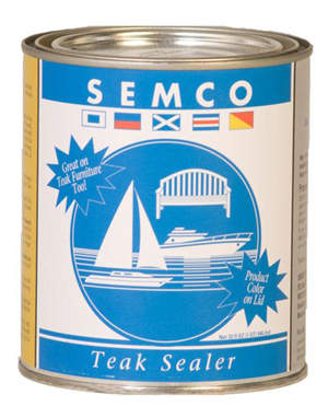 Semco Natural Teak Sealer - Available in 3 Sizes!